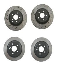 Mercedes W220 S430 S500 Front + Rear Brake Rotors Original Performance KIT