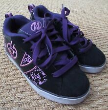 Heelys No Bones Lo Skate Shoes #7599 - Black/Pink/Purple Size Youth 4