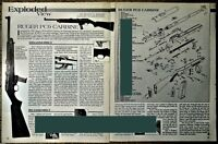 2000 RUGER PC9 Carbine Exploded View Parts List 2-page Assembly Article