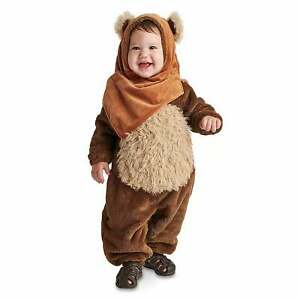 Disney Authentic Star Wars Ewok Baby Costume for Kids Size 3 6 12 18 24 Months