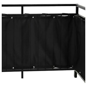 IKEA Balcony Privacy Screen Fence Screen wind & Sun Protection Panel 250 x 80 cm