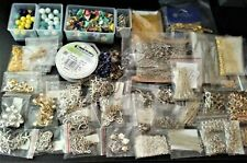 Huge Lot of Assorted Jewelry Making Supplies & Findings