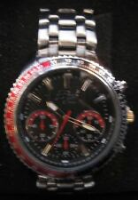 32 Degrees Tundra Watch Brand New with Box Black Dial Black Red Bezel