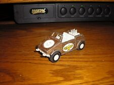Vintage Tootsie Toy Kubelwagon Volkswagen Thing Convertible Brown Free Shipping