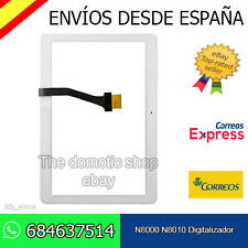 """Pantalla Táctil para Samsung Galaxy Note 10.1"""" N8000 N8010 Digitalizador Blanco"""