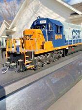 Usa trains sd40-2 G scale Emd diesel Csx