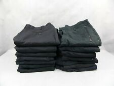 15 Pairs Used Worn Black Unisex Combat Cargo Trousers Mixture Of Sizes