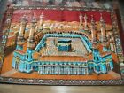 SILK VELVET - WALL CARPET WITH CABE PICTURE good condition and solid
