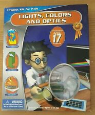 Lights Colours & Optics Project Kit For Kids & Ideas Book New Christmas present