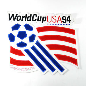 """World Cup 94' USA 16.5"""" x 14.5 Sew on Patch Soccer Coat/Bag Fifa"""