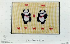 ~ NEW LITTLE MEMORIES PANDAMONIUM SMOCKING DESIGN PLATE BEARS SO CUTE  ~