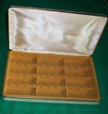 VTG MELE PAISLEY JEWELRY BOX CASKET DRESSER CACHE RINGS EARRINGS NECKLACE RETRO