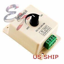 12V 8A PIR Sensor LED Strip Light Switch Dimmer Brightness Controller Power Save