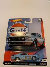 Hot Wheels Car Culture Gulf Oil Racing 69 Ford Mustang Boss 302 NEW SEALED Nice!