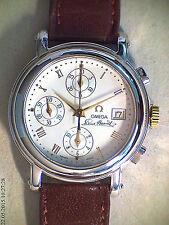 Sportliche mechanische (automatische) Armbanduhren mit Chronograph und Glanz