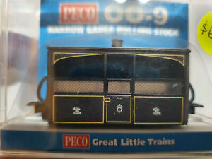 Peco 009 GR-560 Narrow Gauge FR Bug Box Coach, Zoo Car Victorian Livery