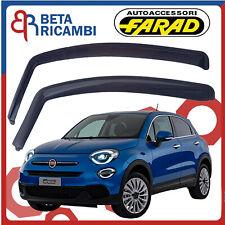 Deflettori Per Fiat 500 X 5 Porte Antipioggia Antivento colore Fumè Farad 12663