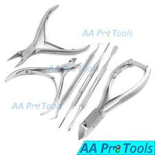 Manicure/Pedicure Diabetic Set Toe Nail Cutter Cuticle Nipper Clipper Excavators