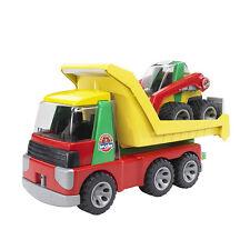Bruder 20070 - Roadmax Transporter mit Kompaktlader