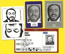 Luciano Pavarotti Fab Card Collection Italian operatic tenor Madama Butterfly