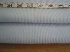 """A102 FABRIC Very Soft Acrylic Knit Baby Blue Unique 52"""" W"""