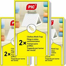 Paquet Trois 6 pièges Produit Anti Mites Textiles Protection Vêtements Stockage