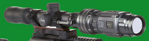 Bering Optics HOGSTER-C Ultra-Compact Thermal Clip On Scope Sight 50hz (BE43142)