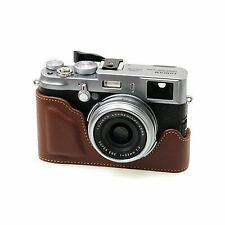 New HORUSBENNU Synthetic Leather Camera Half / Bottom case for Finepix X100