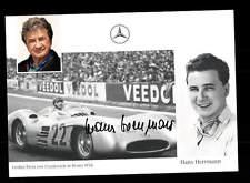 Hans Herrmann Autogrammkarte Original Signiert Formel 1 +A 153250
