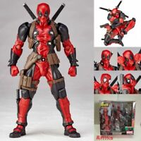 Amazing Marvel Revoltech DEADPOOL X-Men Action Figure Toy Gift New In Box 16cm