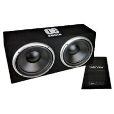 """OE Audio Dual 12"""" Active Subwoofer box - Huge Power and bass - 2500w high power"""