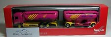 """Herpa 1/87: 305594 Scania R HL Eutersilo-Hängerzug """"Heckel & Stein Landhandel"""""""