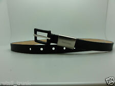 Calvin Klain Black Genuine Leather Belt L