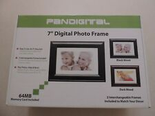 "PANDIGITAL 7"" INCH DIGITAL PHOTO FRAME WITH REMOTE & INTERCHANGEABLE FRAME"