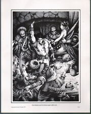 CONAN The TOWER Of The ELEPHANT Print Robert E Howard - STEEL FLASHED