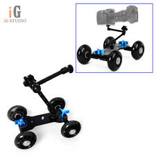 """Black TableTop compact Dolly Kit Skater + 11"""" Articulate Magic ARM for Camera"""
