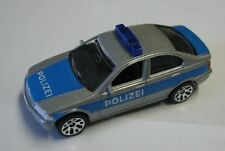Matchbox Superfast 1-75 BMW 328i silver blue Polizei German Model
