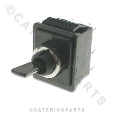 FOR HEATED GANTRY LIGHTS - 16 AMP BLACK PLASTIC ON / OFF TOGGLE POWER SWITCH 16a