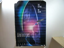 Star Trek Generations Original Advance Issue Poster