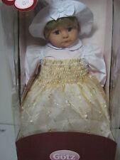 New Gotz Doll Hildegard Gunzel Luise $299 Nib Coa