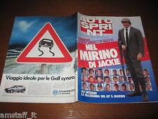 AUTOSPRINT 1987/18=JACKIE STEWART COVER=CAMEL TROPHY=LANCIA DELTA KANKKUNEN