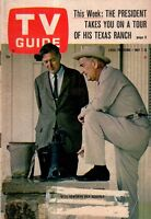 1966 TV Guide May 7 - Jackie Gleason; Ken Berry; My three Sons; UNCLE - Sommars