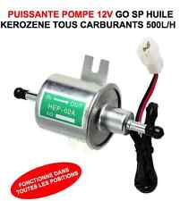 POMPE A CARBURANT 12V 500L/H SPECIALE MOTO HARLEY GOLDWING BUELL BMW QUAD ATV