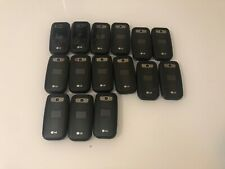 LOT OF 15 LG 441g Flip Cell Phone TracFone WIRELESS-Please Read