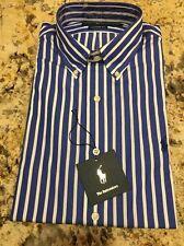 New Ralph Lauren Long Sleeve Button Front Shirt Dress 16 34 / 35 Retail $85