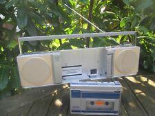 UNISEF DOUBLE Radio Cassette WALKMAN Ghettoblaster (RARITÄT) KOMBIGERÄT ~TOP~