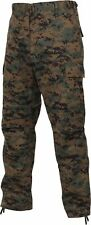 BDU Cargo Pants Camouflage Tactical Military Combat Uniform Rothco, 4XL