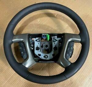 NOS 2009 Hummer H2 OEM Steering Wheel 25995626