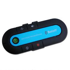Car Bluetooth Wireless Speaker 2 Phones HandsFree Headphones Kit Sun Visor
