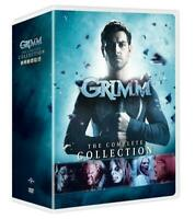 GRIMM the Complete Series Collection DVD Seasons 1-6 - Season 1 2 3 4 5 6 NEW!